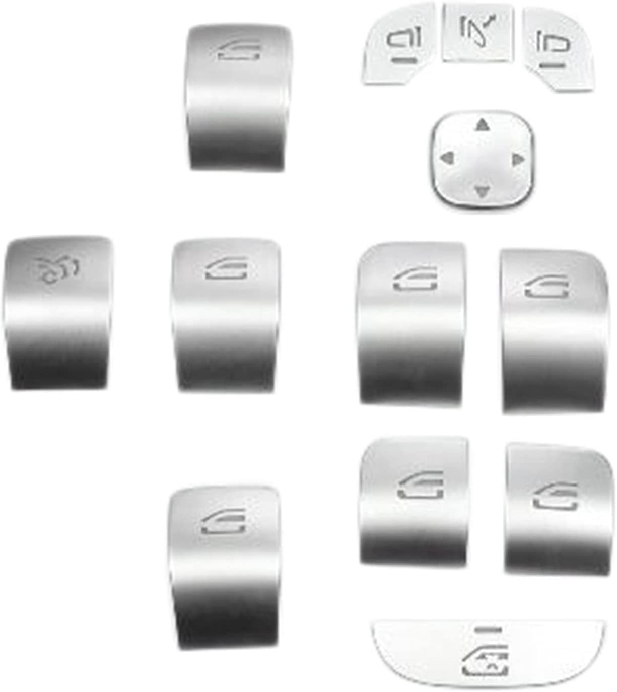 Vernacular Car Door Free shipping anywhere in the nation Armrest Window Fit f Stickers Excellent Switch Buttons