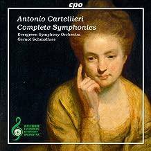 Cartellieri: Complete Symphonies (Symphonies Nos. 1-4) (Evergreen Symphony Orchestra; Gernot Schmalfuss) (CPO: 777667-2) by Evergreen Symphony Orchestra