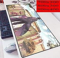 ナルトマウスパッド、滑り止めラバーコンピューターマウスパッド、大型テーブルマット、プロフェッショナルゲーミングマウスパッド-ナルトアニメデザイン 大型マウスパッド ゲーミング キーボードパッド アニメ マウスパッド 疲労軽防水 マウスパッド800*300*3MM/900*400*3MM-A_700*300*3mm