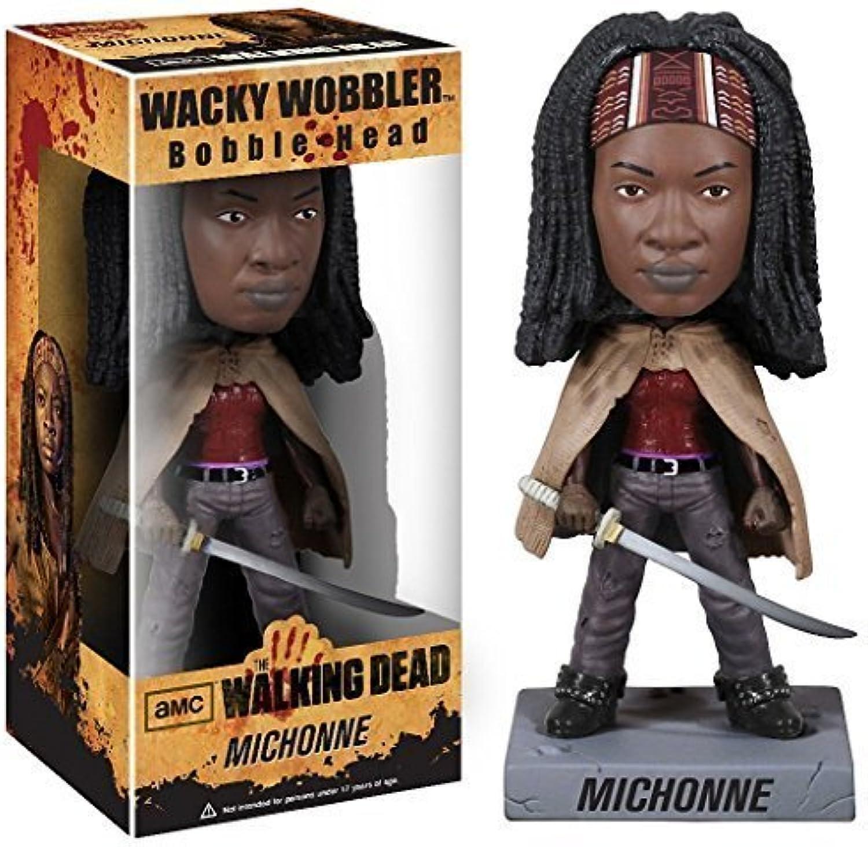 Michonne Bobble Head Figure  Walking Dead x Wacky Wobbler Series by Walking Dead