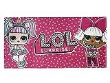 Cerda L.O.L. Surprise! | Mdchen Bad/Strandtuch | Premium-Qualitt | Einzigartiges Design | (L.O.L. Surprise! Official Strandtcher)