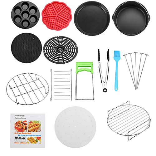 TuToy 14st Air Fryer Accessorie Set Koken Bakplaat Pan Cooker Pizza Set Thuis Keuken Koken Gereedschap