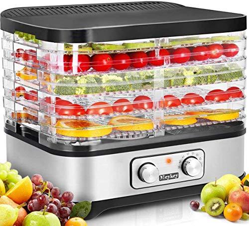 Homdox Food Dehydrator Machine, Multi-Tier Food Preserver...