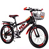 24 Zoll Mountainbike Fahrrad, geignet ab 160CM, Scheibenbremse vorne und hinten,21 Gang-Schaltung, Vollfederung, Jungen-Herren Fahrrad, mit Vorder- und Hinterschutzblech