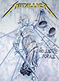 POSTER STOP ONLINE Metallica - Music Poster (And Justice For All) (Size: 24