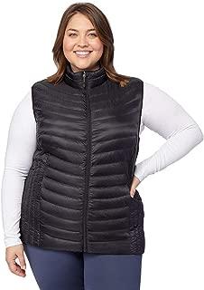 Womens Plus-Size Ultra-Light Down Packable Vest