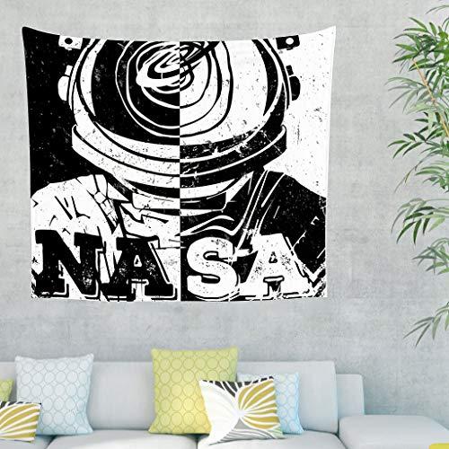 Toomjie NASA - Astronaut Tapestry Raumfahrer Picnic Beach Sheet Beach Tapestry, Quality Hippie für Wand Schlafzimmer Wohnzimmer Decor