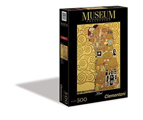 Clementoni 30316.8 - Puzzle Klimt-Fulfilment, 500 teilig