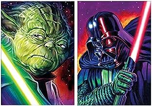 5D Diamond Painting Full Drill Star Wars DIY Painting Diamond Canvas Wall Art for Adults (Star Wars)