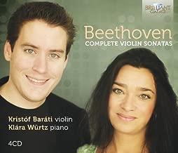 Klára Würtz/ Kristof Barati Beethoven: Sämtliche Violinensonaten/Complete Other Solo Instrum.