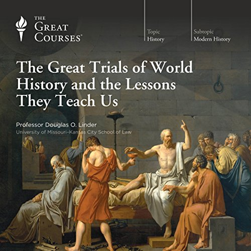 Page de couverture de The Great Trials of World History and the Lessons They Teach Us