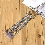 NF-JHDJ Kreative fünfzackigen Stern Traumfänger Glocke Anhänger indische Traumfänger Windspiel, hängendes Geburtstagsgeschenk DIY Raumdekoration Anhänger (2)
