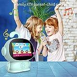 Tablette Enfant 5.5 Pouces IPS/HD, 2Go RAM 32Go ROM, Android 8.1 Batterie 5400mAh Tablette PC, Apprentissage Robot Logiciel D'éducation Google, Appel Vidéo, Karaoké, WiFi, Bluetooth(Vert Clair)