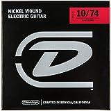 Dunlop DEN1074 Medium Nickel Wound Electric Guitar Strings (0.10-0.74) 8-Strings