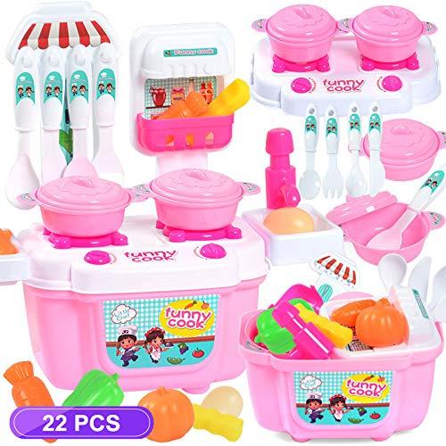 PLTyfsail 1 Unidades Niños Niña Juguete de rol Mini Simulación Utensilios de cocina Vajilla Utensilios de cocina
