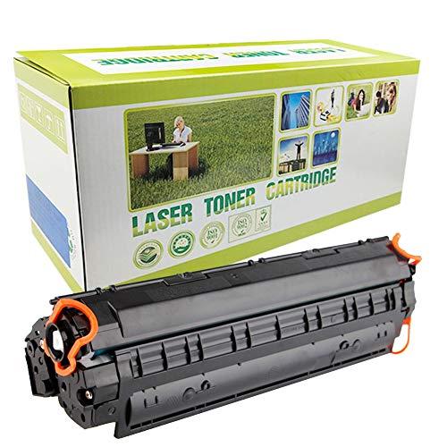 Cartucho de tóner CE285A 85A compatible con HP Laserjet Pro P1102 P1102w M1130 M1132 M1212nf M1217nfw Cartucho de tóner para impresoras láser, rendimiento de página, 1600 páginas, color negro
