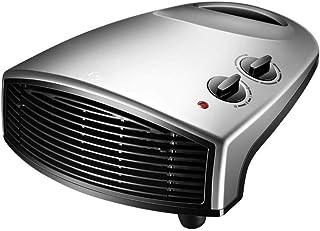 GYF Calefactor eléctrico Mini Mudo Calefactor Eléctrico Calentador Casa Baño Calor Rápido Impermeable Disipador De Calor Calefacción De Cerámica Material Ignífugo Gris