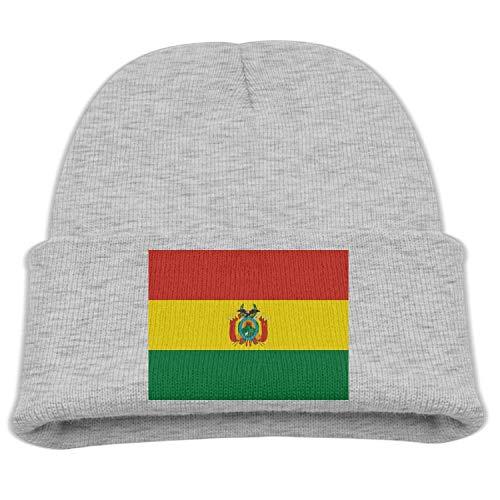 NR Flagge Von Bosnien Und Herzegowina Kinderhüte Winter Lustige Weiche Strickmütze Mütze Kinder Unisex