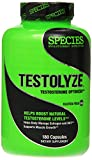 Species Nutrition Testolyze, Natural Testosterone Booster with 1250mg Tribulus, D-Aspartic Acid, DIM, and Maca, PCT Support and Anti-Estrogen 180 Caps