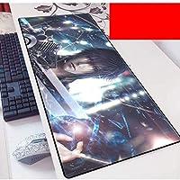 ゲームアニメーションマウスパッド、キーボードパッド, 大型ゲームマウスパッドXXL大型マウスのマットキーボードマットの拡張MousePad PCのマウスパッド(色:C、サイズ:800x300x3mm)