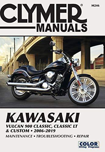 Kawasaki Vulcan 900 Classic, Classic Lt & Custom 2006-2019: CLYMER Manuals: Maintenance - Troubleshooting - Repair (Haynes Powersport)