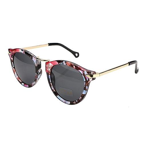 e398da355143 FEISEDY Vintage Arrow Women Sunglasses Round Design Candy Color B2427