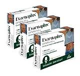 Evacuaplus® complex 400 mg con aloe, sen, frángula y carbón vegetal activado 30 Cápsulas Vegetales.(Pack 3 unid.)