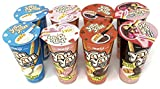Meiji Yan Yan Dipping Sticks Variety Pack of 4 (2 of each, total of 8)