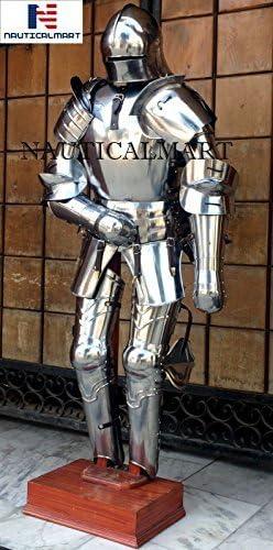 NauticalMart German Gothic Nashville-Davidson Mall Philadelphia Mall Full Suit Armor of Medieval Halloween