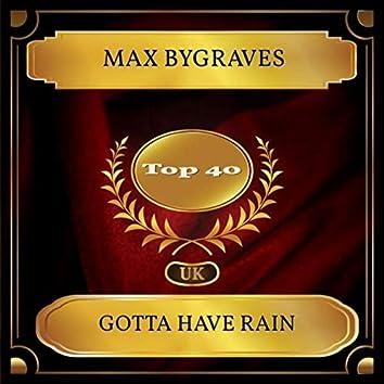 Gotta Have Rain (UK Chart Top 40 - No. 28)