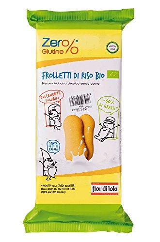 Zero Glutine Bizcochos Solubles de Arroz - 6 Paquetes de 120 gr - Total: 720 gr