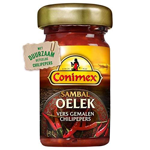 Sambal Oelek Sauce | Conimex | Sambal Leck | Gesamtgewicht 50 Gramm