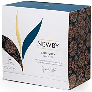 Newby London - Classic Collection Earl Grey - 50 envelopped tea bags