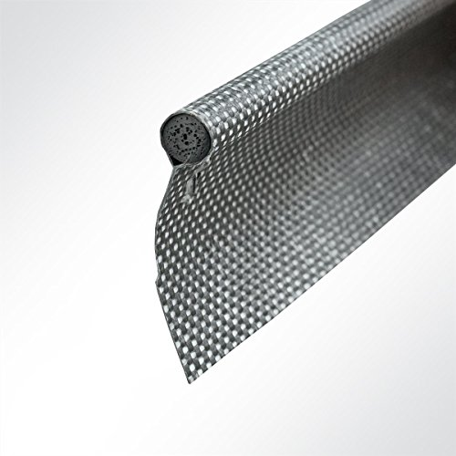 LYSEL Kederband 8,50mm einfahnig anthrazitgrau, (L) 5m
