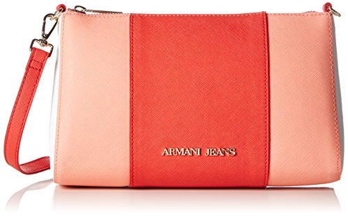 Armani Jeans C5206s6 Borsa a spalla 6 x 15 x 24 cm, Arancione (Arancione Arancio arancione G9.), 6x15x24 cm (B x H x T)