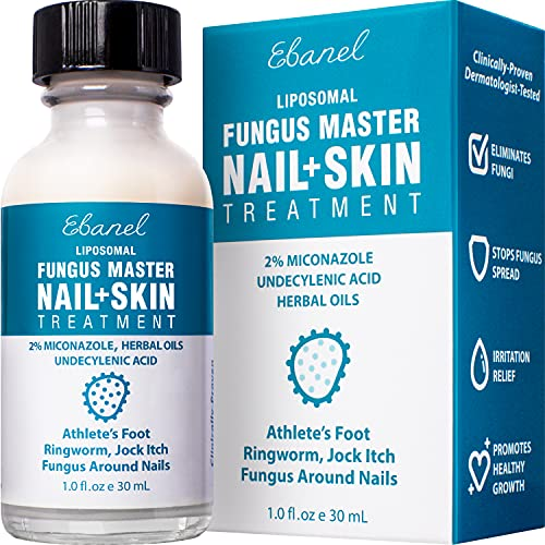 Ebanel Foot Fungus Treatment Extra Strength Athletes Foot...
