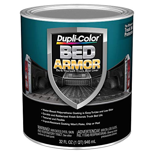 Dupli-Color BAQ2010 Bed Armor DIY Truck Bed Liner with Bed Armor - Quart