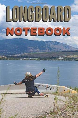 Longboard notebook: 101 pages lined Longboards notebook - Format 6 X 9 inches - To note your longboard exploits - Because of its small size, it can be stored everywhere.