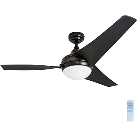 Remote Control Reversible Motor Nocolliny Modern Ceiling Fan 52 with Dimmable LED