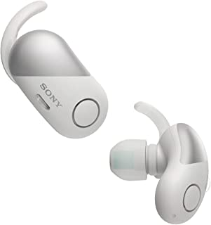 Sony WF-SP700N スポーツ用ワイヤレスノイズキャンセリングヘッドフォン WFSP700N White [並行輸入品]