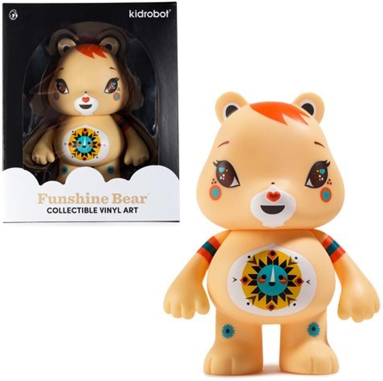 Kidrobot Care Bears Funshine Bear 6 Inch Vinyl Figure