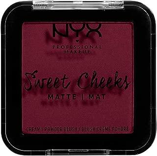 NYX PROFESSIONAL MAKEUP Sweet Cheeks Creamy Powder Blush Matte, Red Riot