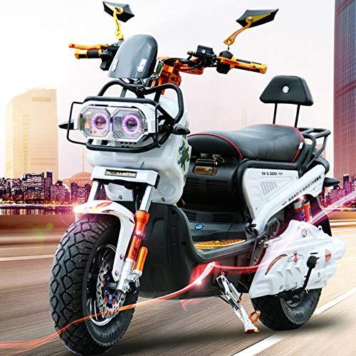 suyanouz Pedal Adultos Motocicleta EléCtrica Coche Deportivo EléCtrico Bicicleta EléCtrica De La BateríA 72V20A Citycoco Personalityelectric Motocicletas, Multi