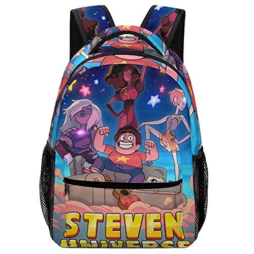 Crystal Gems - Mochila de 16,5 pulgadas, elegante mochila de colegio, resistente al agua, casual, mochila para ordenador portátil, para adolescentes, niños, niñas y viajes