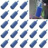 EORTA 50 piezas de piedras de burbujas para acuario, aireador de peces, difusor de aire, bomba | productos acuáticos, acuario, hidropónicos, azul
