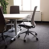 Floortex Polycarbonate XXL Office Mat 60' x 60' for All Pile Carpets (FR1115015023ER)