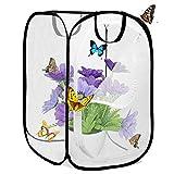 Insectes Habitat Cage Pliable Étanche Papillon Maisons Anti-Moustique Papillon Pet Tente Pop Up Mini Transparent À Effet De Serre Cultiver Maison