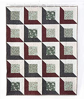 Connecting Threads Twin Quilt Kit (Framed Large)