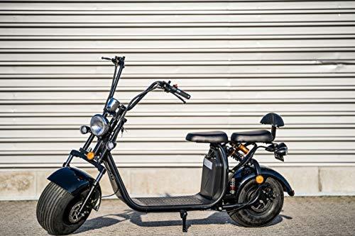 """Elektroroller """"Chopper X7"""", 2000 Watt, 50 km Reichweite, 40 km/h, Elektro Roller mit Straßenzulassung"""