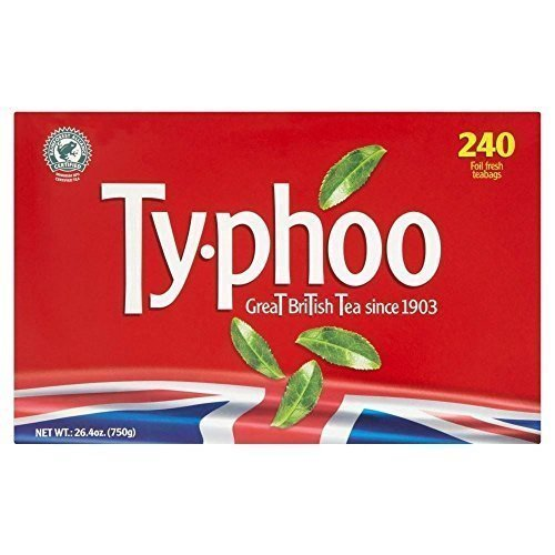 Typhoo (240 Tea Bags) by Typhoo Tea [Foods] by Typhoo